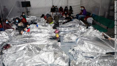 Temporary processing facilities in Donna, Texas, processes family units and unaccompanied alien children (UACs) encountered and in the custody of the U.S. Border Patrol.