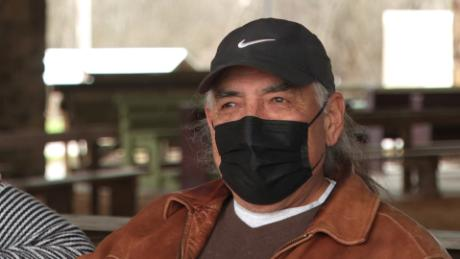 Raymond Lasley, an Osage elder, said the history of disease plaguing Native Americans is all the more reason to get vaccinated.