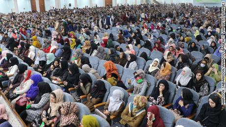 As Afghan women, we finally have a seat at peace talks. Don't abandon us