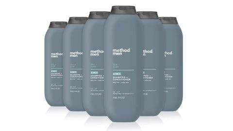 Method Men 2-in-1 Shampoo and Conditioner 6-Pack in Sea + Surf